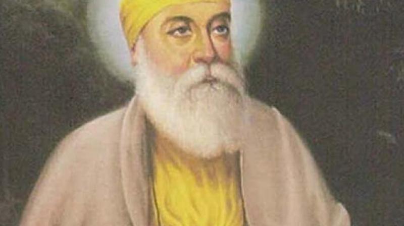 Guru Nanak.