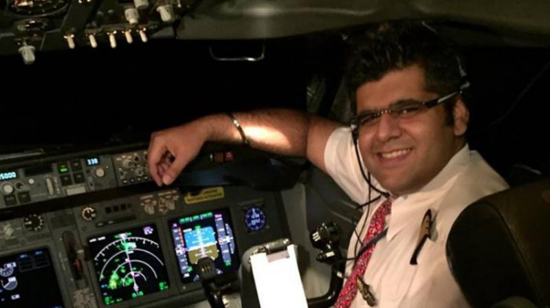 There were seven crew members on the flight, including the captain, Bhavye Suneja, 31. (Photo: Facebook)