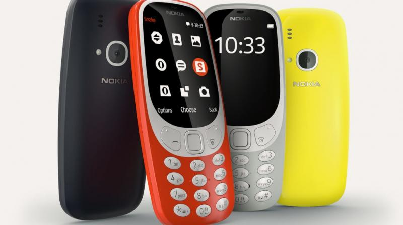 The revamped version of Nokia 3310 phone.