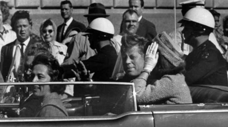 According to new calculations based on the video recordings of the assassination, the mysterious movement of the president's head after being shot – a crucial detail in the grassy knoll theory – was the result of a recoil effect. (Photo: AP)