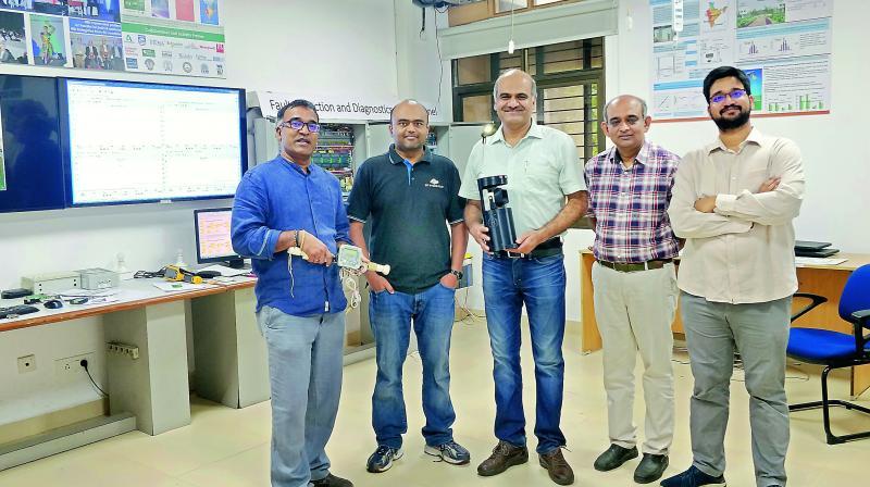 Ramesh Loganathan, Sachin Chaudhari, Vishal Garg, Prakash Yalla and Aftab Hussain.