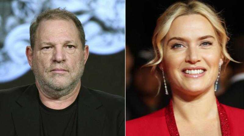 Harvey Weinstein and Kate Winslet.