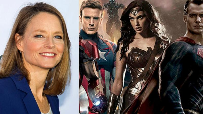 Hollywood veteran Jodie Foster has claimed that comic book movies are ruining cinema.