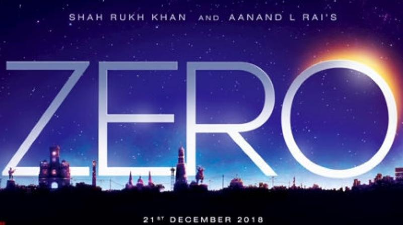 Zero First Look Shah Rukh Khan Announces The Title Of His Aanand L