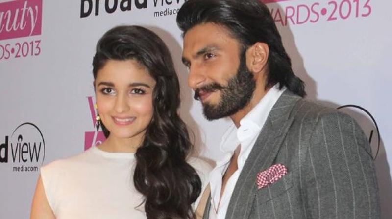Ranveer Singh and Alia Bhatt.
