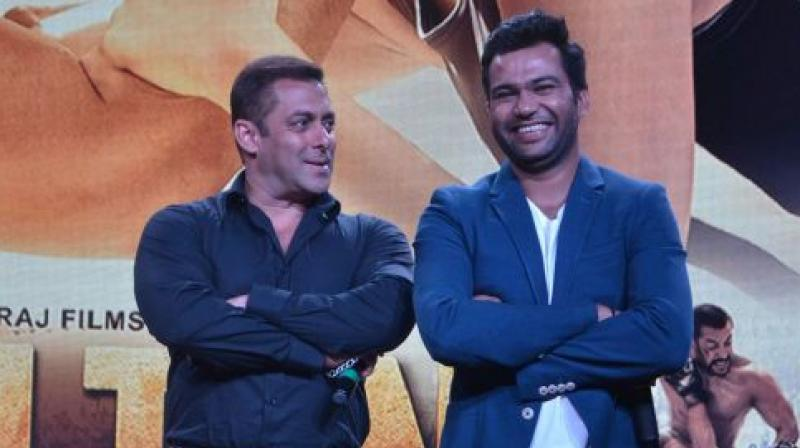 Ali Abbas Zafar and Salman Khan.