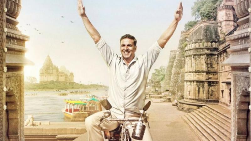 Akshay Kumar in PadMan poster.