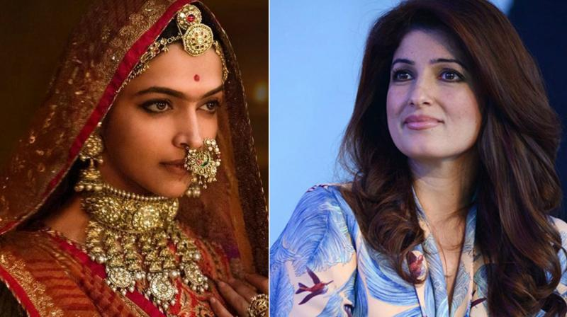 Twinkle Khanna broke silence over PadMan vs Padmaavat clash
