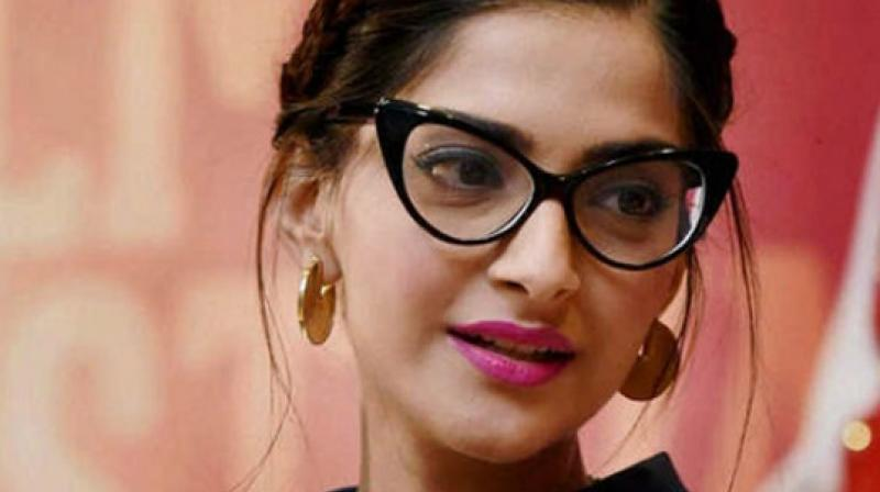 Sonam Kapoor at an event.