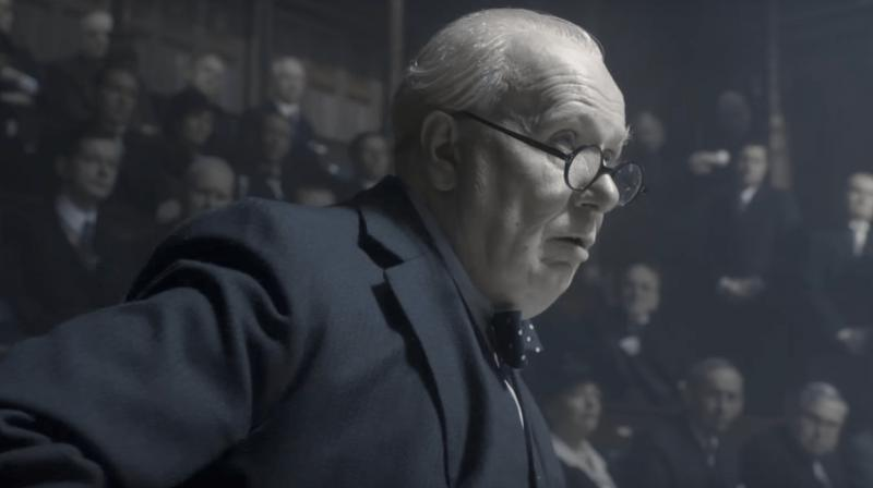 Gary Oldman has undergone layers of prosthetic make-up to get the look of his character right.
