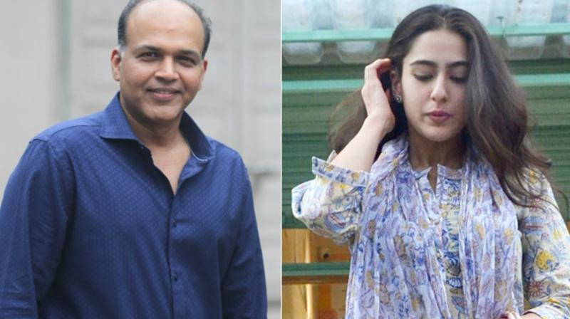 Ashutosh Gowarikar and Sara Ali Khan.