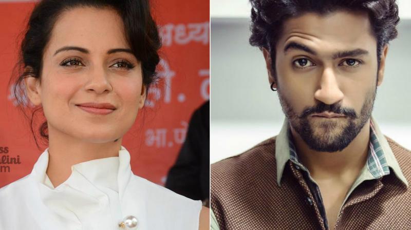 Kangana Ranaut and Vicky Kaushal.