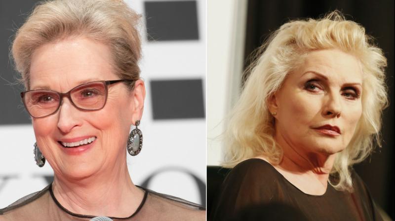 Meryl Streep and Debbie Harry.