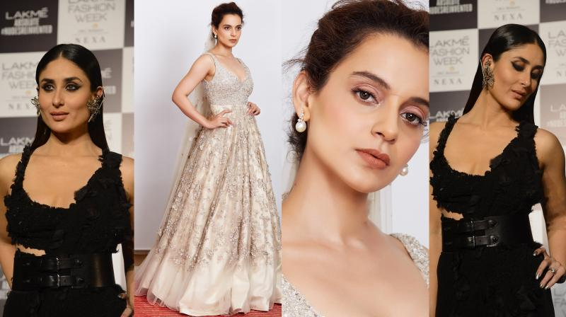 Bollywood beauties Kareena Kapoor Khan, Kangana Ranaut, Diana Penty, Jhanvi Kapoor and others rocked LFW '18 with their impeccable style and beauty.