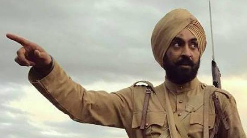Diljit Dosanjh in 'Sajjan Singh Rangroot'.