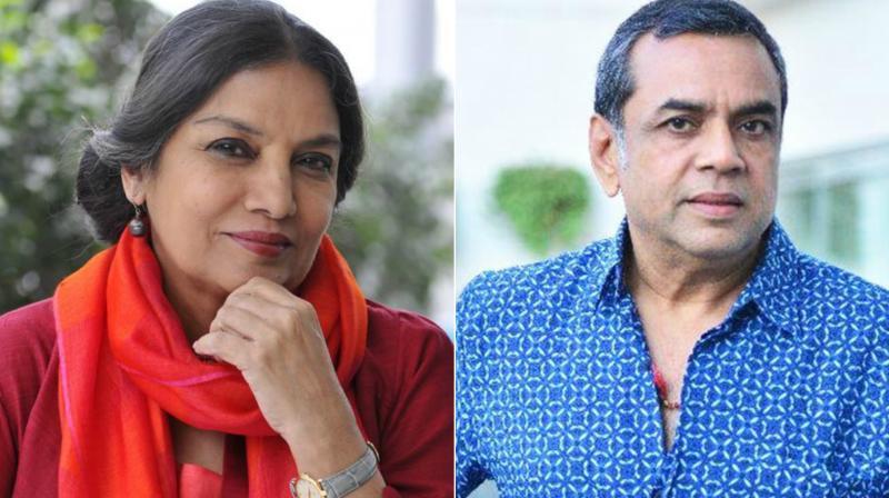 Shabana Azmi, Paresh Rawal.