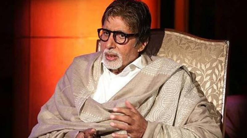 Amitabh Bachchan at an event.