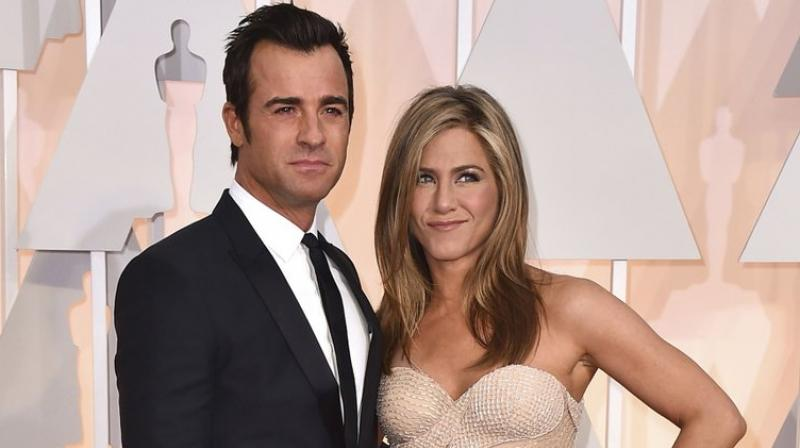 Jennifer Aniston and Justin Theroux met 'one last time' on
