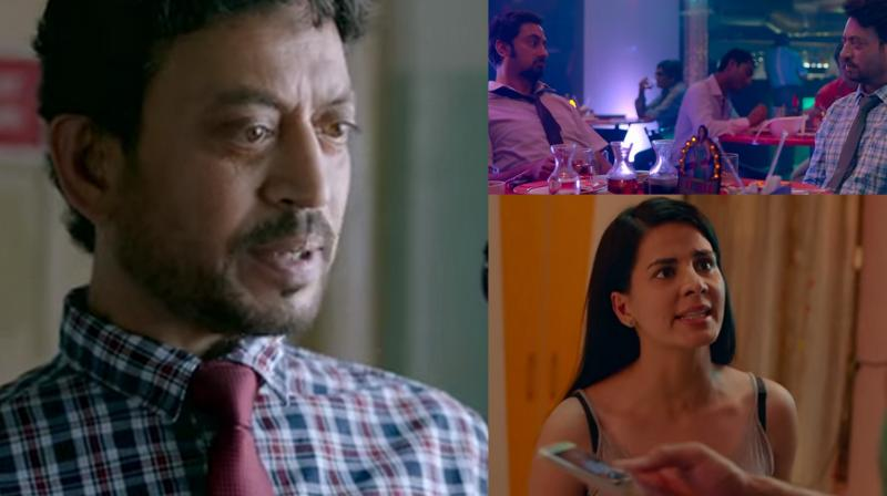 Blackमेल trailer released: Irrfan Khan blackmails his cheating wife, Kirti Kulhari