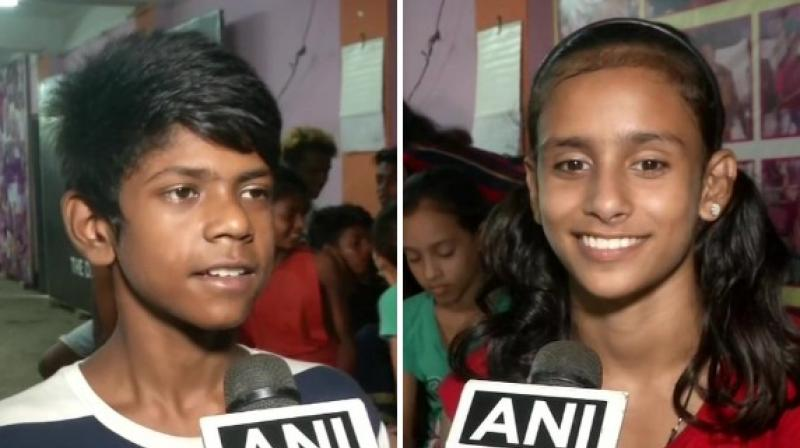 Jashika, 11, and Azajuddin, 12, also known by their loved ones as Lovely and Ali, are now eyeing for a career in gymnastics. (Photo: ANI)