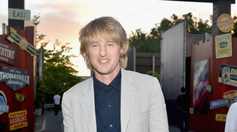 Owen Wilson at the world premiere of 'Cars 3'.