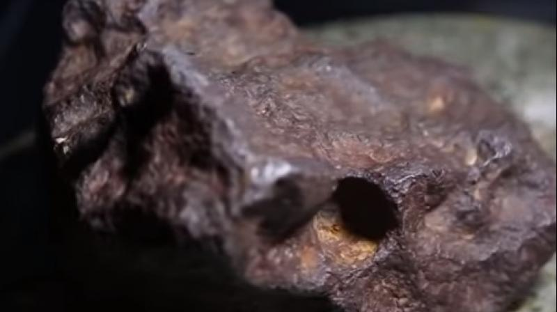 $100000 meteorite served as a doorstop