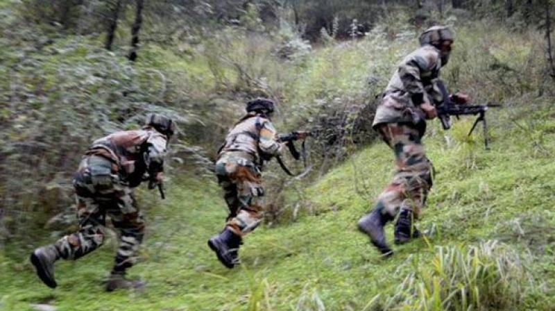 Indian troops martyr five Kashmiri youth in Hajin