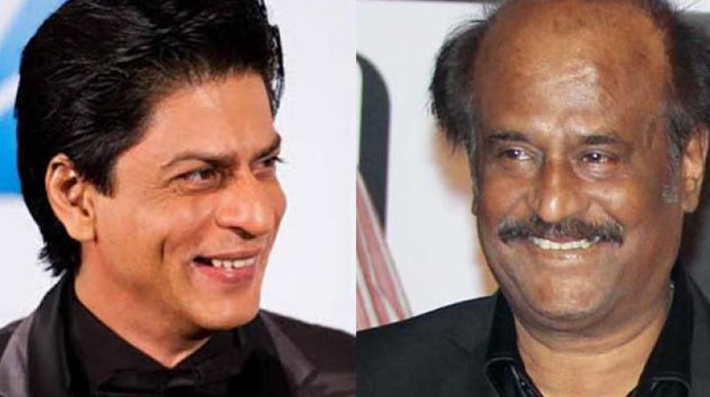 Rajinikanth and Shah Rukh Khan.