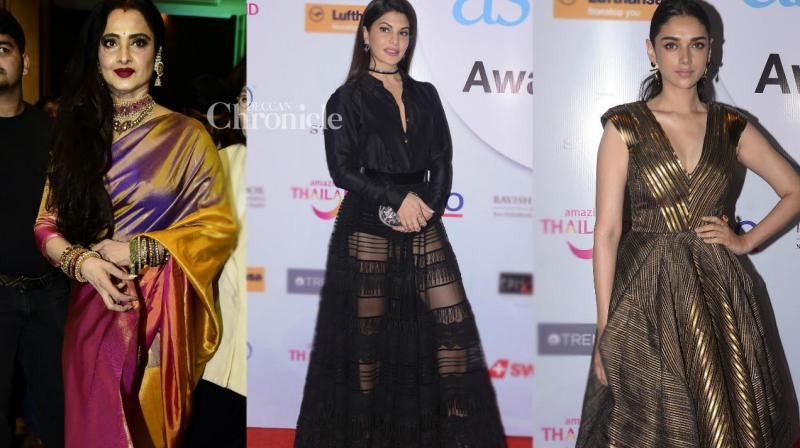 Several Bollywood stars attended the AsiaSpa Awards held in Mumbai on Thursday. (Photo: Viral Bhayani)