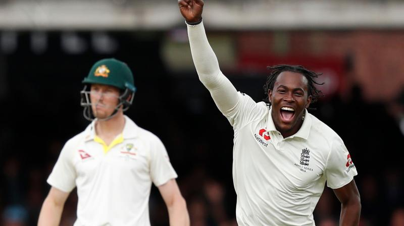 Archer's bowling touched speeds in the mid-90-miles-per-hour range in a scintillating debut international summer. (Photo: AFP)