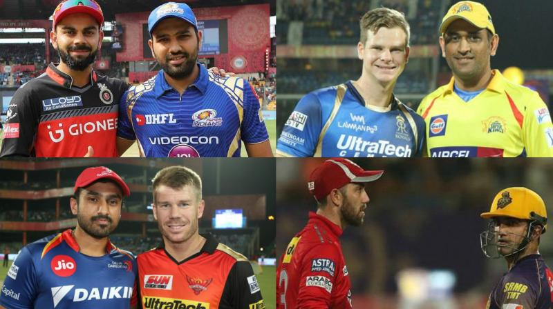 While the Indian Premier League 2018 players' auction will one of the biggest, it will become even more intense as the name of the retained cricketers by the eight IPL teams will be announced on January 4, Thursday. (Photo: BCCI)