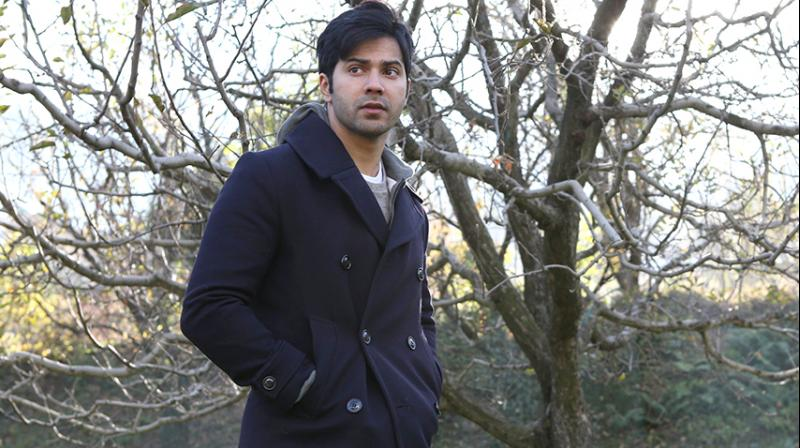 Varun Dhawan in the still from 'October'.