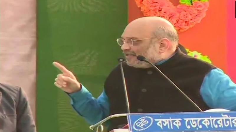 Shah predicted that the anti-BJP coalition would not succeed. (Photo: ANI | Twitter)