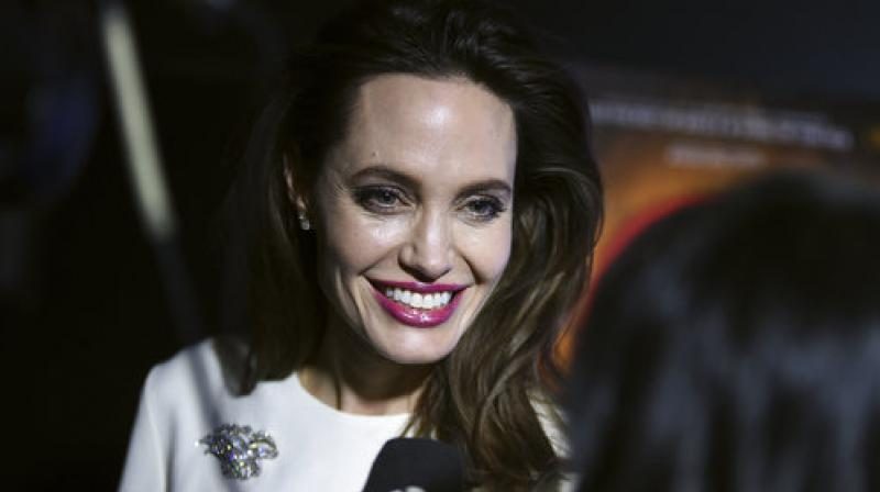 "Executive producer Angelina Jolie arrives at the Los Angeles premiere of ""The Breadwinner"" on Friday, Oct. 20, 2017, in Los Angeles. (Photo: AP)"