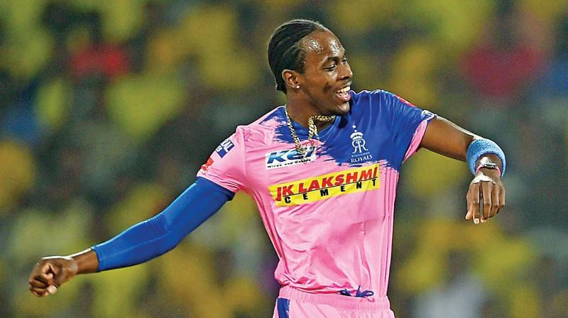 jofra archer is rajasthan royals spearhead