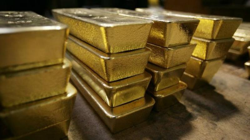 SPDR Gold Trust its holdings fell 0.16 per cent to 927.45 tonnes on Tuesday from 928.93 tonnes on Monday.