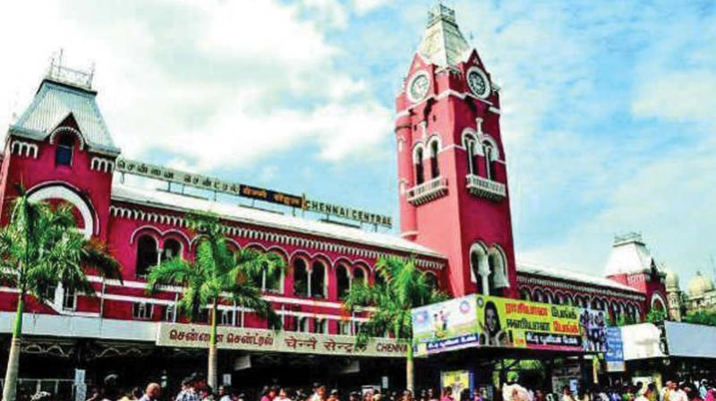 Image result for egmore indian railway station