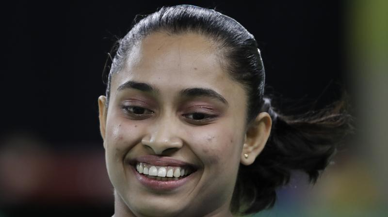 Dipa Karmakar scored 14.150 to win gold at the Gymnastics World Challenge Cup in Turkey. (Photo: AP)