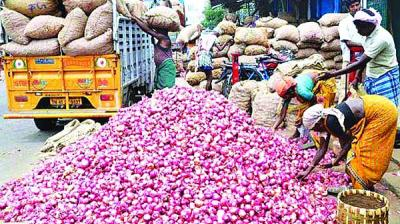 Onion prices have gone up to Rs 70-100, up by 40-50 per cent per kg in several mandis.