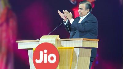 Reliance Industries' Chairman and Managing Director Mukesh Ambani. (Image: Jio)