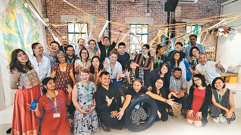 The forum marks the end of the four-day Chennai exchange programme of the Arts for Good Fellowship organised by SIF.