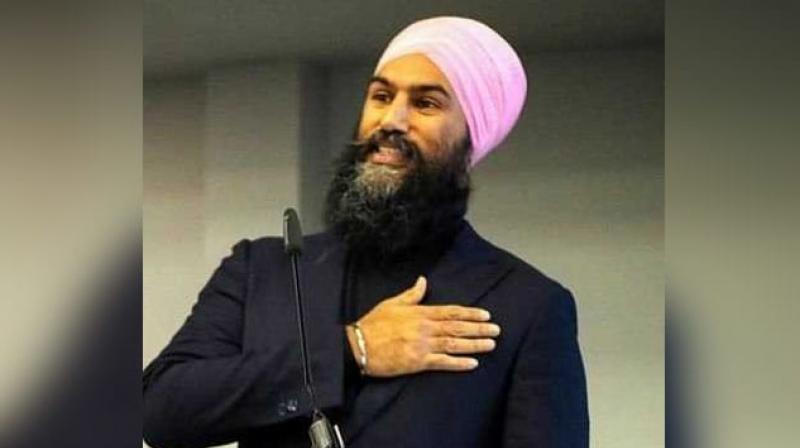 Singh, as an elected lawmaker, talked about last week's terrorist attack on two mosques in New Zealand. (Photo: JagmeetSingh | Twitter)