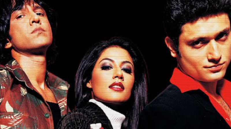 Kay Kay Menon, Chitrangada Singh and Shiney Ahuja in 'Hazaaron Khwaishein Aisi.'