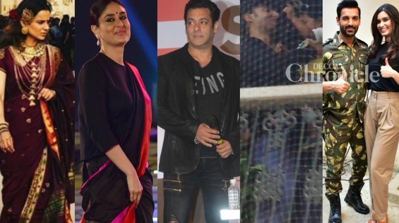 Bollywood celebrities were clicked at various events in the country on Thursday as they stepped out for their professional commitments. (Photo: PTI/ Instagram/ Viral Bhayani)