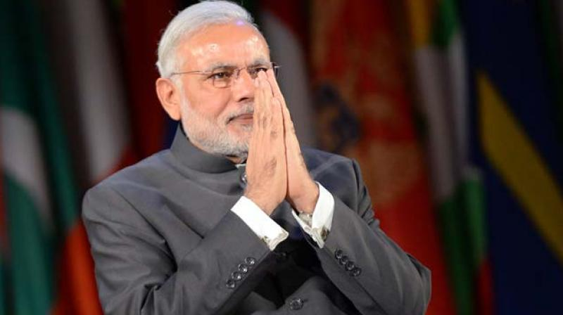 Prime Minister Narendra Modi will send his message highlighting the farmer welfare initiatives to the agricultural community through Krishi Vigyan Kendras. (Photo: AFP)