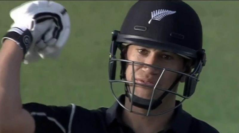Sarfraz had a heated exchange with Taylor and the on-field umpires as New Zealand, fired by a hat-trick by returning paceman Trent Boult, won the series-opener by 47 runs. (Photo: Screengrab)