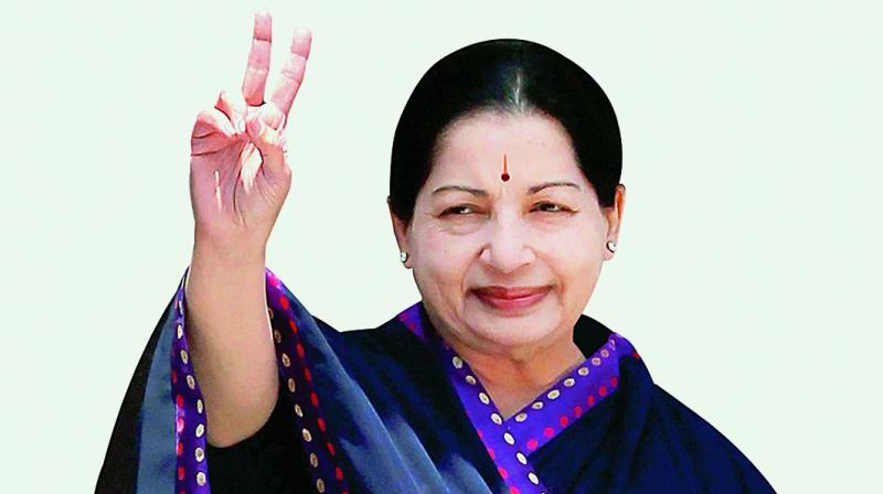 Jayalalithaa had died on December 5, 2016 after being treated in Apollo hospital for 75 days for various ailments. (Photo: File | PTI)
