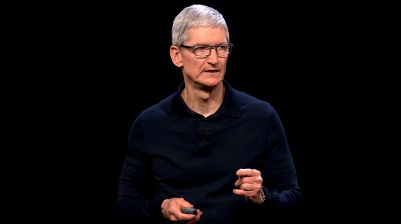 Apple Inc's Chief Executive Tim Cook.