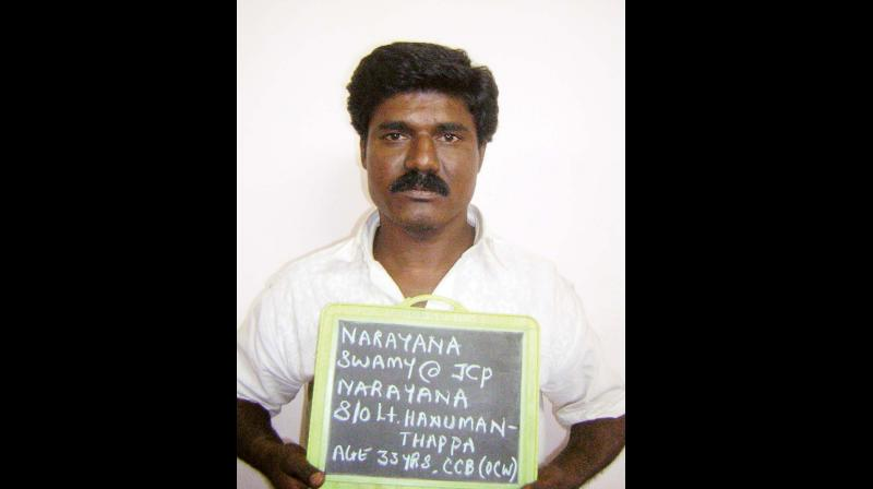Bengaluru Land Mafia Don Jcb Narayana Arrested