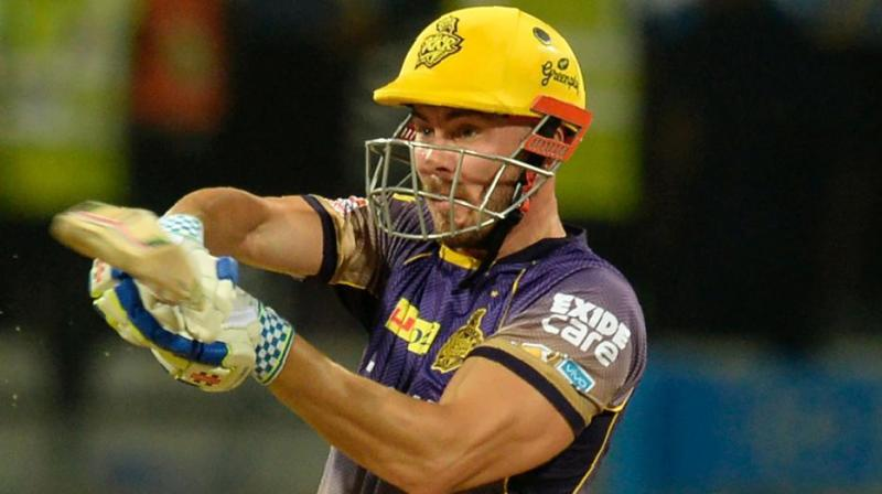 Chris Lynn injured his shoulder in the match against Mumbai Indians. (Photo: AFP)